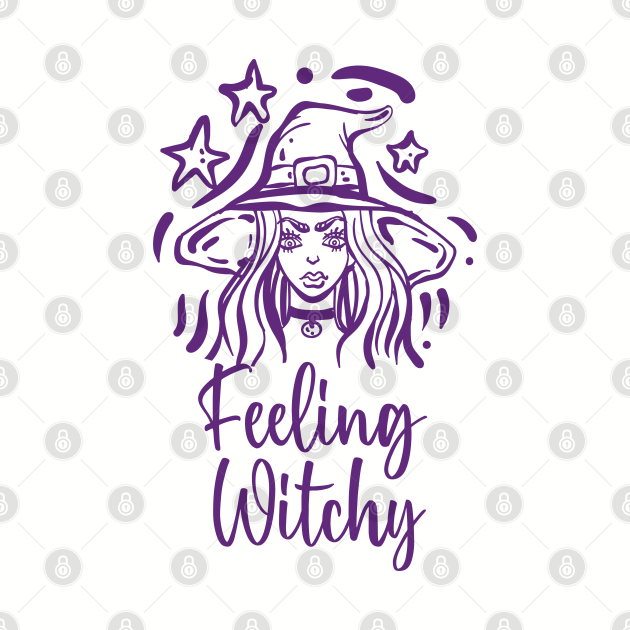 Feeling Witchy - Halloween Shirt  Funny Witch  Halloween gift for men/women