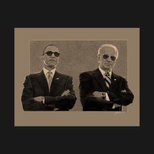 Barack and Joe t-shirts