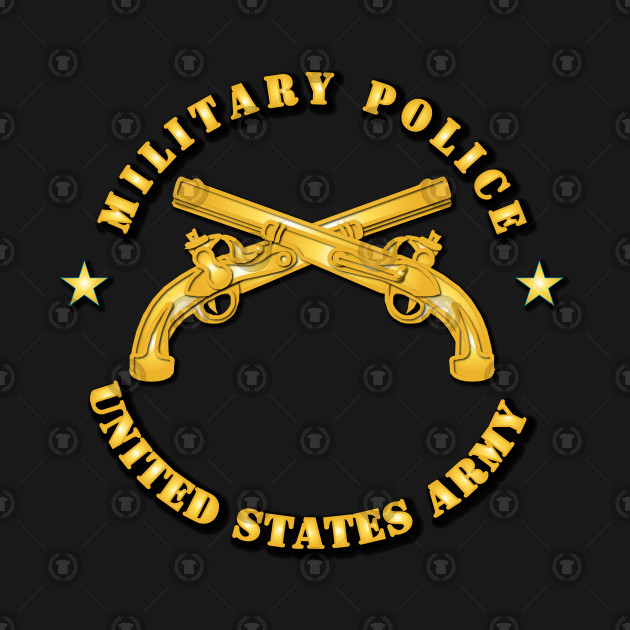 df9d6e7b3de0c Military Police - US Army - Military Police Us Army - T-Shirt ...