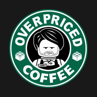 Overpriced Coffee t-shirts