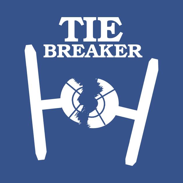 TIE BREAKER white