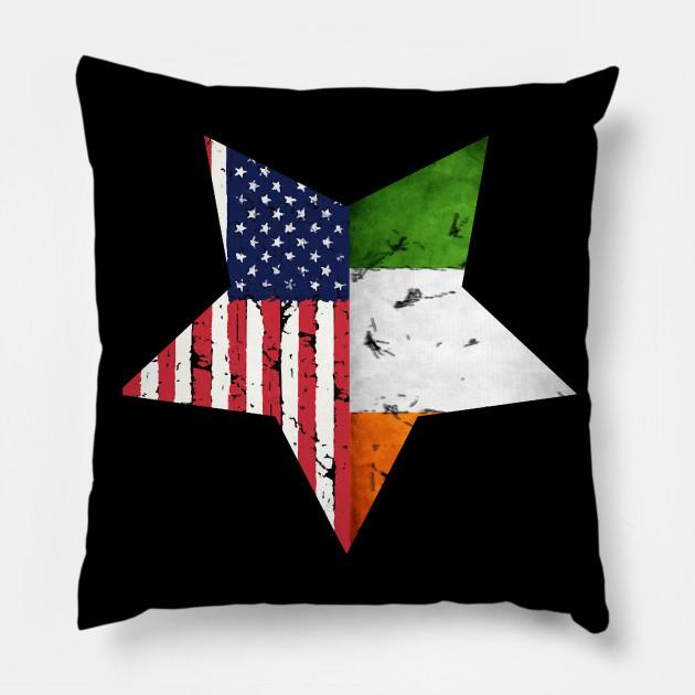 Great Irish American Flag star design