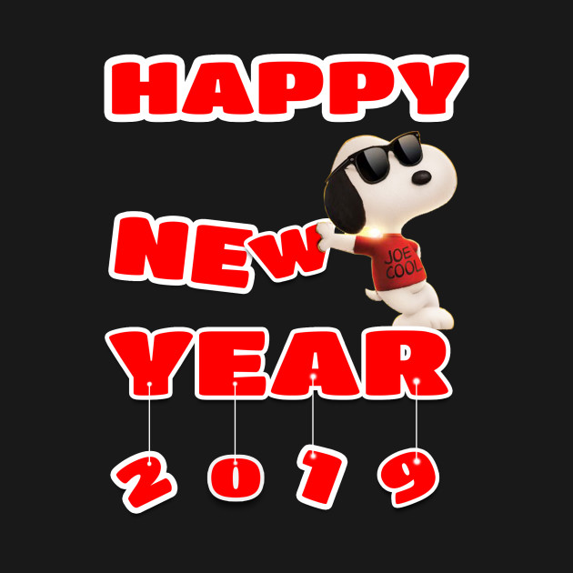 Snoopy Merry Christmas Happy New Year Snoopy Happy New Year