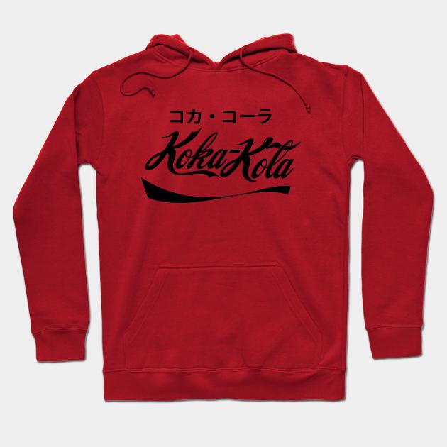 Koka - Kola コカ・コーラ Japan - Pop Culture - Sweat à Capuche | TeePublic FR