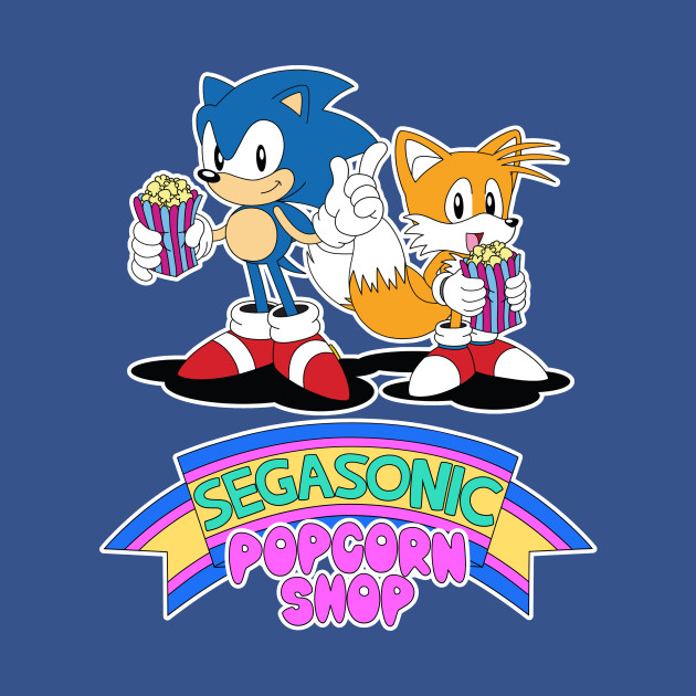 SegaSonic Popcorn Shop