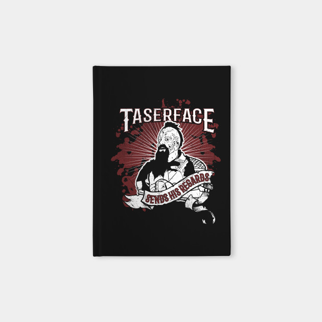 Taserface Sends his Regards
