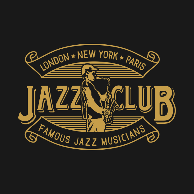 Vintage Jazz Club Retro Style