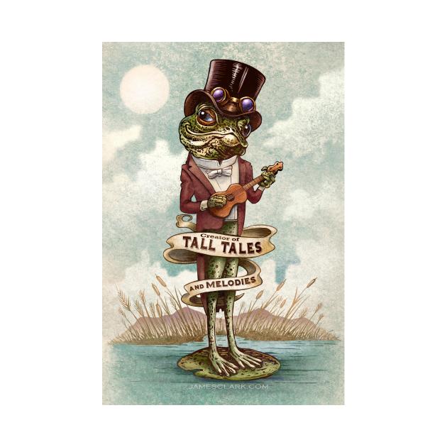 Steampunk Ukulele Frog