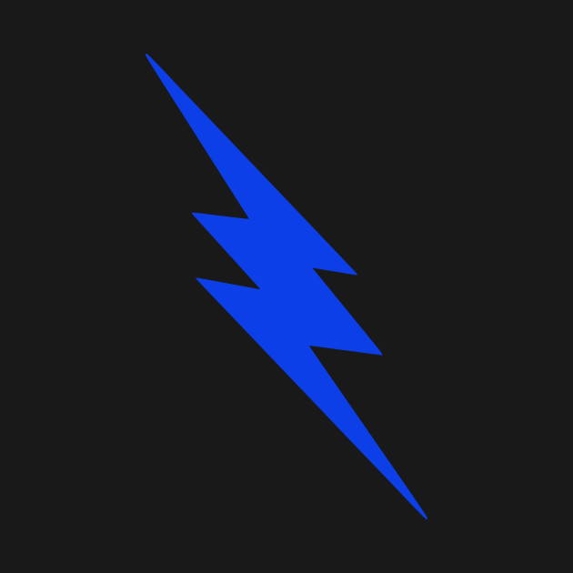 blue lightning bolt lightning bolt t shirt teepublic