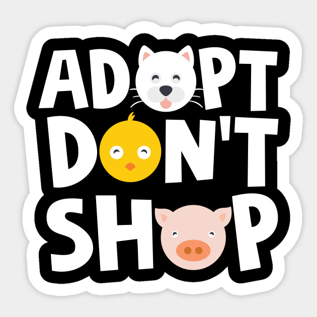 Adopt Don't Shop Animal Rescue T-Shirts