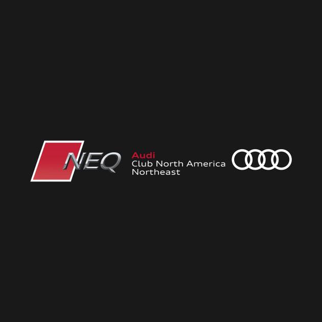 Audi Club North America North East quattro Chapter (dark)