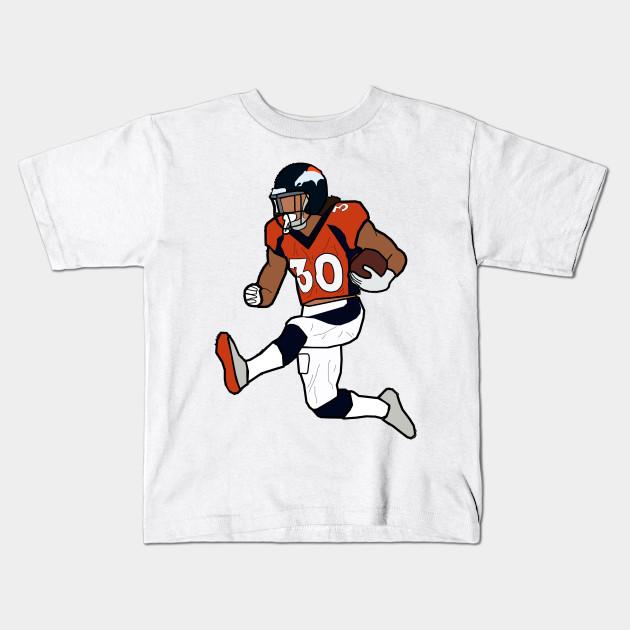 cheap for discount 8a745 c983a Phillip Lindsay Hurdle Touchdown Celebration - Denver Broncos