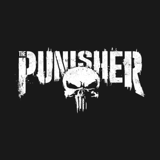 07eedf39f The Punisher - Skull tag - grunge T-Shirt