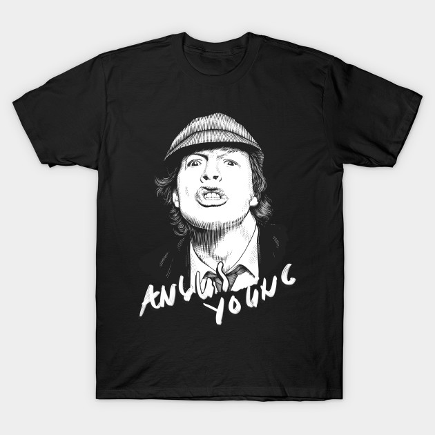 AC//DC Flick Of The Switch Angus Young Boys T Shirt New with Tags various sizes