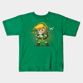 Link Blowing in Cartridge kids-t-shirt
