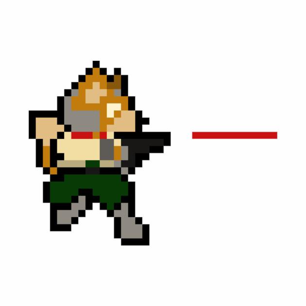 8-Bit Fox Pew