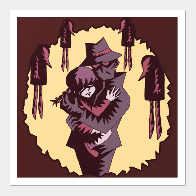 Father Shadow - Kikiyama - Wall Art | TeePublic