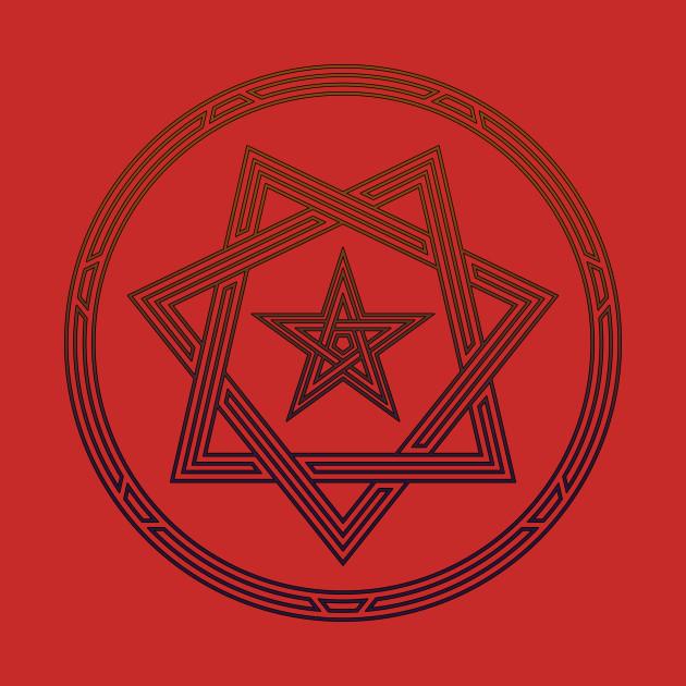 Heptagram Star Sigil Shirt