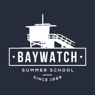 Baywatch Lifesaving Summer School Lifeguard t-shirts
