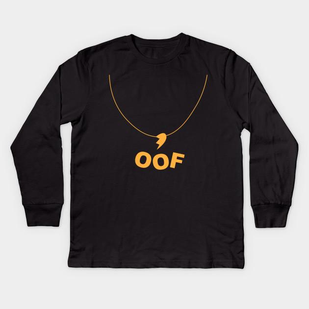 Roblox Broken Heart Necklace Gold Roblox Kids Long Sleeve T