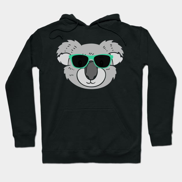 f101bb5cd47 Cute Koala Wearing Sunglasses - Koala - Hoodie