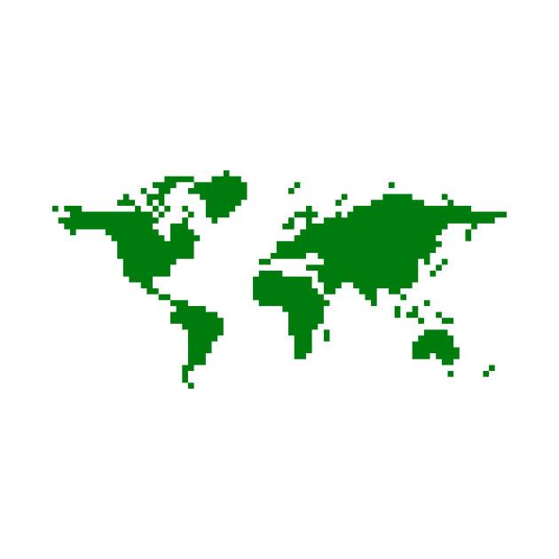Pixel World, Green