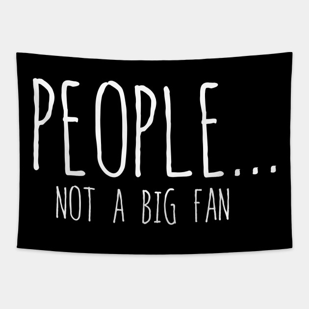 Funny People Not A Big Fan Introvert Sarcasm 7