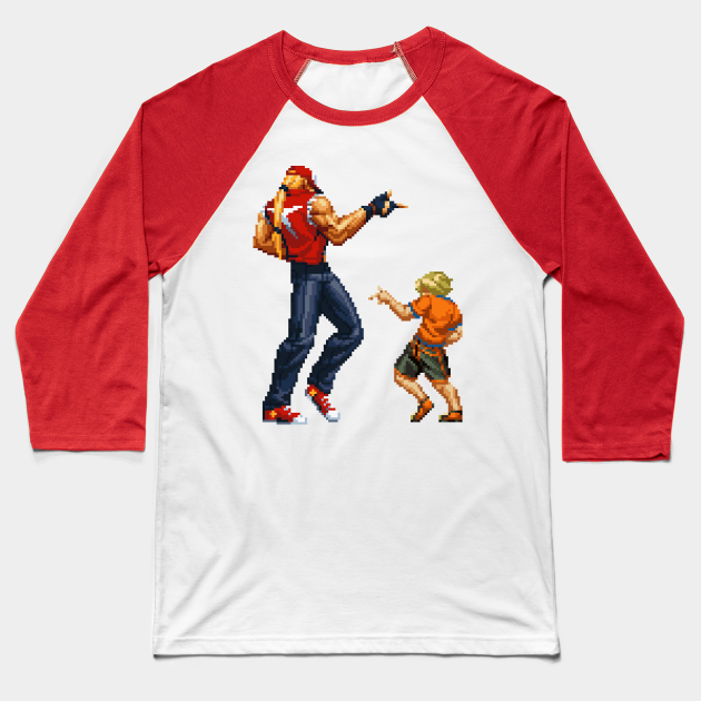 You Got It King Of Fighters Baseball T Shirt Teepublic Rock learned moves from both terry and inherited some trademark moves from his father. teepublic