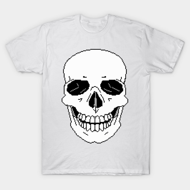 932f89fc9 Pixel Skull - Skull - T-Shirt | TeePublic