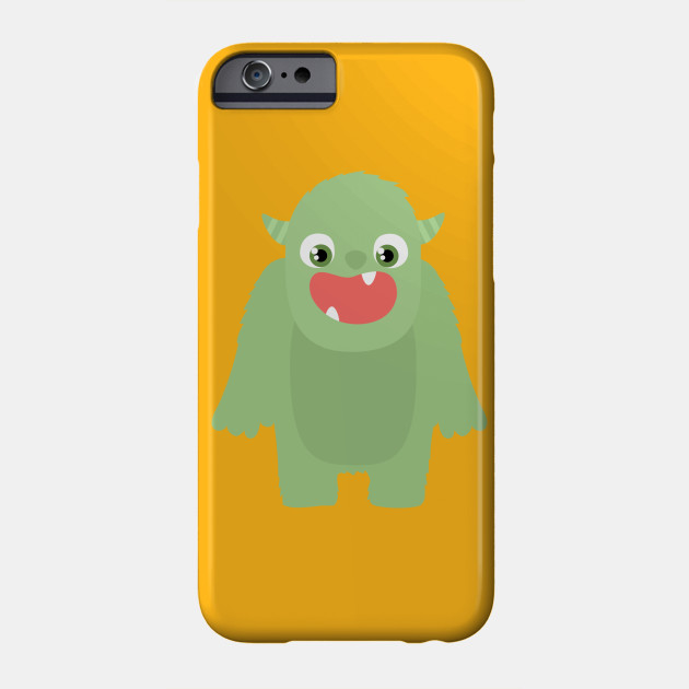 Monster Hairy Halloween Creature Skin Beast Phone Case