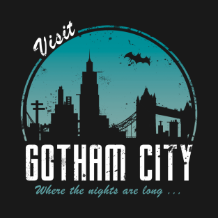 Visit Gotham City t-shirts