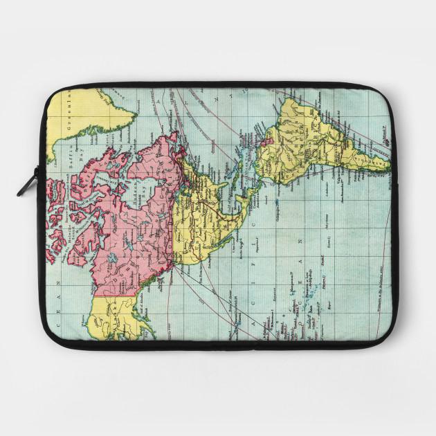 Amercia Vintage Map V01