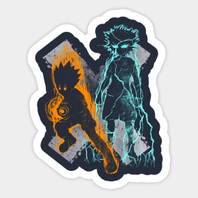Hunter X Hunter Stickers | TeePublic