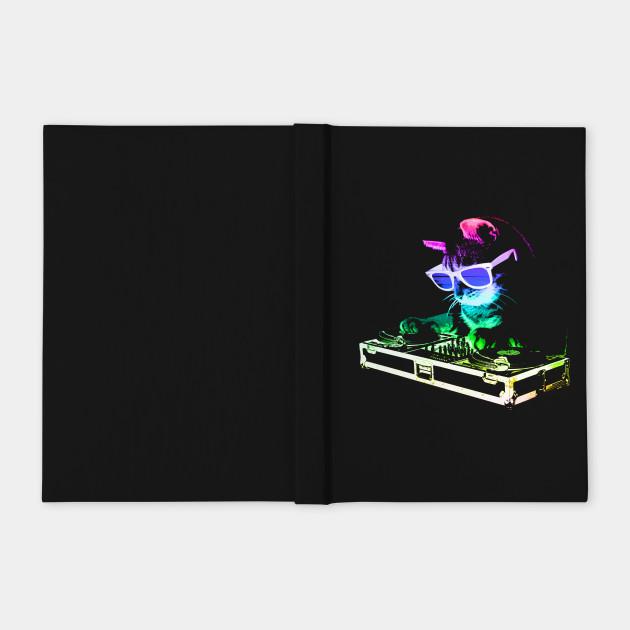 Rainbow DJ Cat