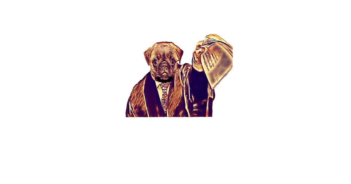 Pug Puppy Inspired John Bercow Paw-der Order! Fu