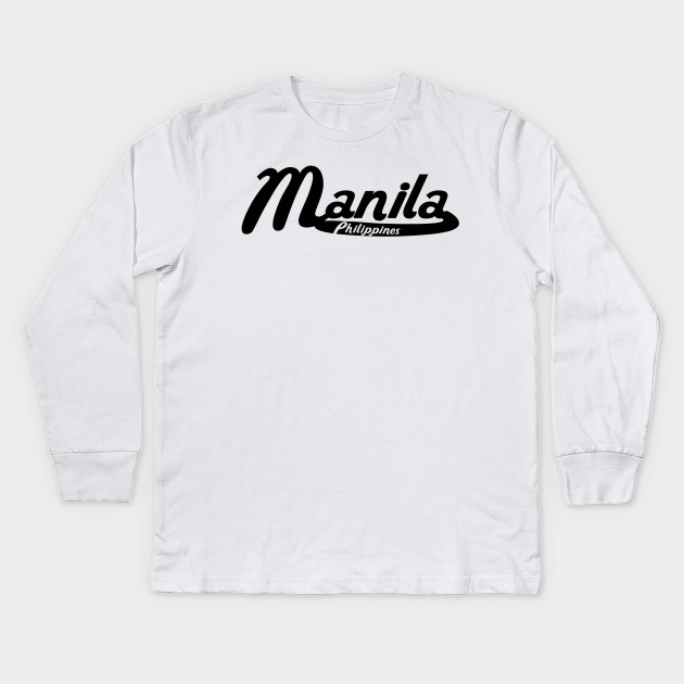 Manila Vintage City Adult Cotton Long Sleeve T-shirt