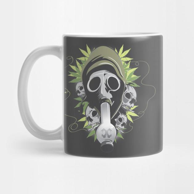 Gasmask Bong by criminal_creativity