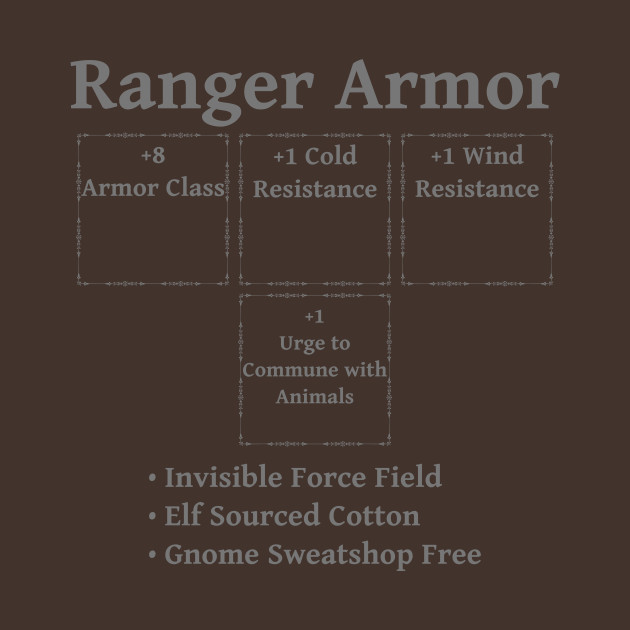 Ranger Armor: Role Playing DND 5e Pathfinder RPG Tabletop RNG by rayrayray90