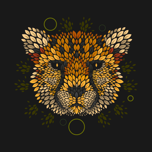 Cheetah Face T-Shirt