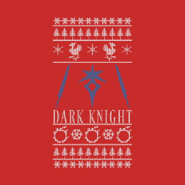 Final Fantasy XIV Dark Knight Ugly Christmas Sweater T-Shirt T ...