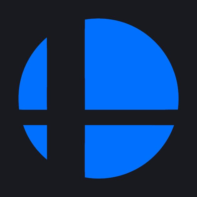 Super Smash Bros. Logo (Blue)