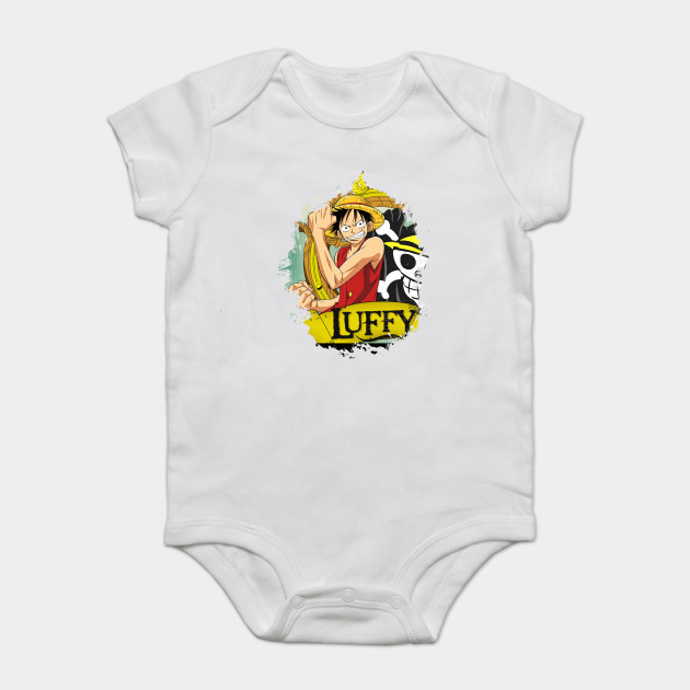 One Piece Anime Monkey D Luffy Anime Onesie Teepublic