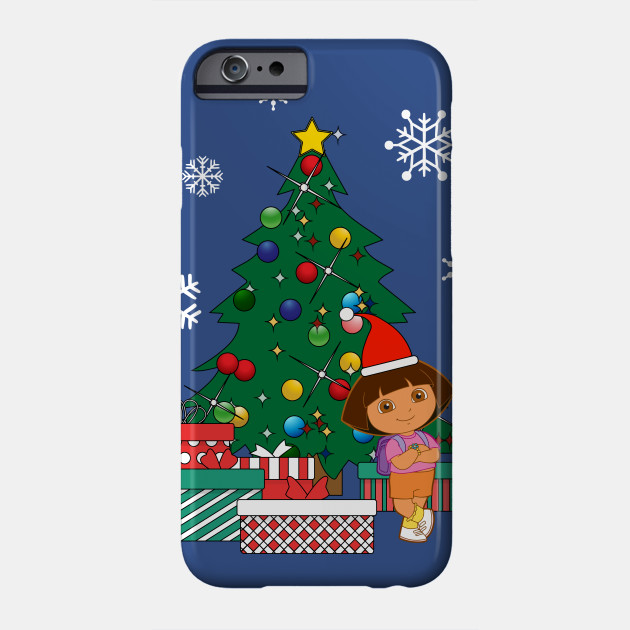 Dora The Explorer Around The Christmas Tree Dora The Explorer