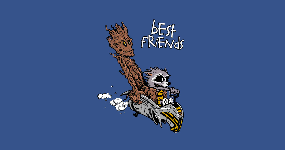 Rocket Amp Groot Galactic Best Friends Guardians Of The