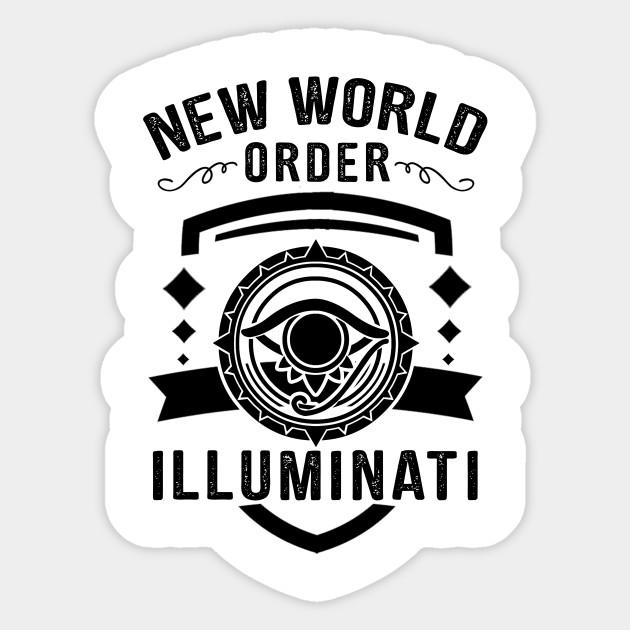illuminati new world order conspiracy theory conspiracy sticker