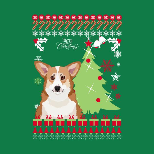 Corgi Christmas Sweater