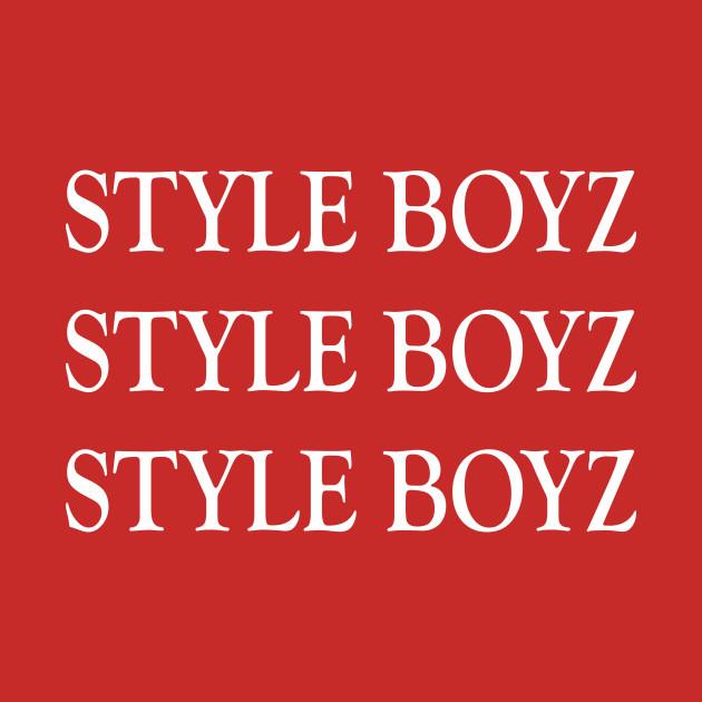 e1b0b0b45 Style Boyz Kids Long Sleeve T-Shirt. New!Back Print. Style Boyz Style Boyz