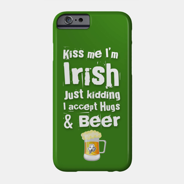 saint Patrick's day beer Phone Case