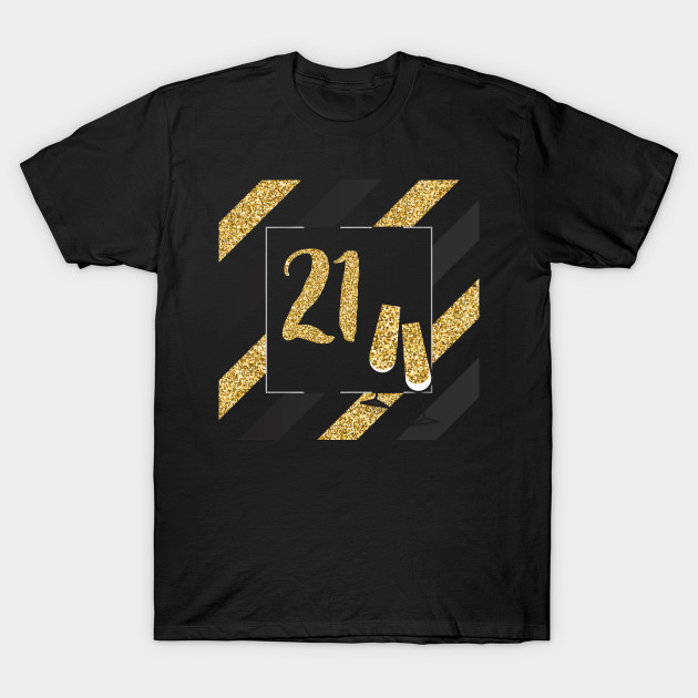 21 Years Old TShirt Birthday For Wine Lover T Shirt