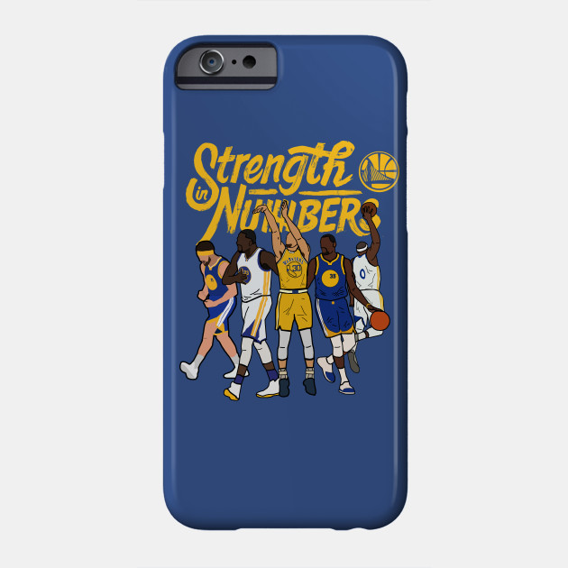 Golden State Warriors NBA 'Strength In Numbers' Steph Curry/Klay Thompson/Draymond Green/Kevin Durant/Demarcus Cousins